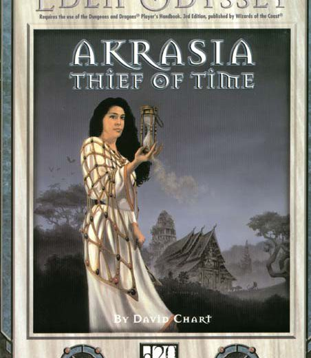 AKRASIA - THIEF OF TIME Eden Studios