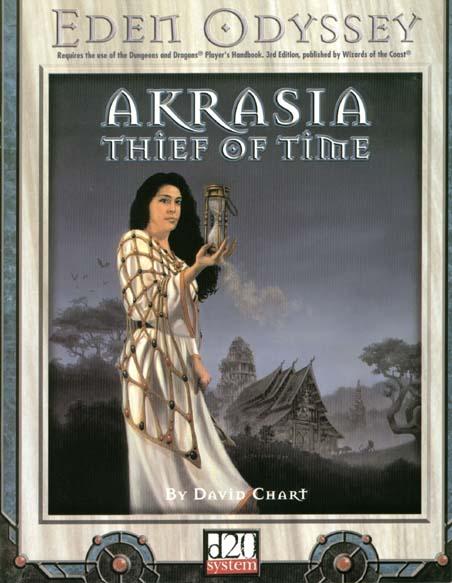 AKRASIA - THIEF OF TIME Eden Studios