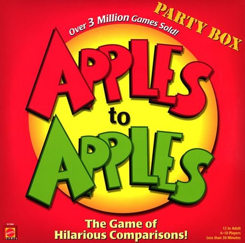 Apples to Apples van Out of the box