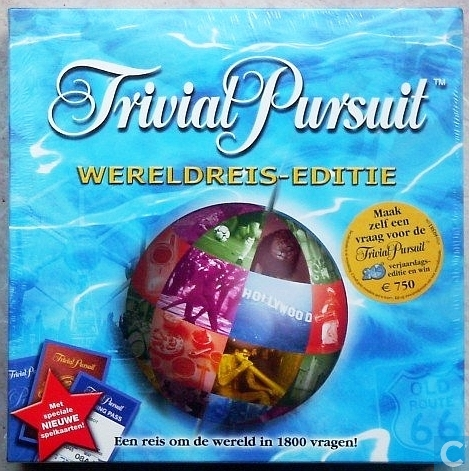 Trivial pursuit: wereldreis editie hasbro